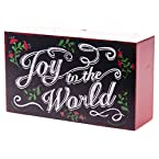 Chalkboard Look Joy To The World Sign
