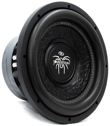 "T7.12 D2 - Soundstream 12"" 800W Rms Dual 2-Ohm Tarantula Subwoofer"
