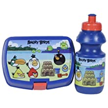 Angry Birds Lunch Box & Water Bottle Combo