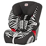Britax Evolva 1-2-3 Plus Forward Facing Group 1/2/3 Car Seat (Smart Zebra)
