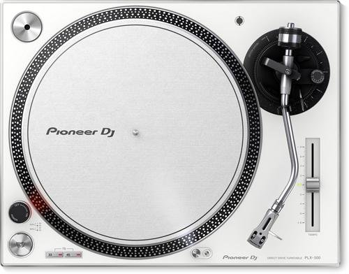 Pioneer DJ PLX-500-W Direct Drive DJ Turntable, White (Professional Dj Turntables compare prices)