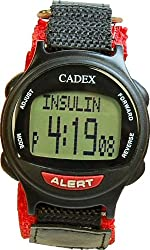 e-pill CADEX PEDIATRIC. 12 Alarm Medication Reminder Watch & Electronic Medical Alert