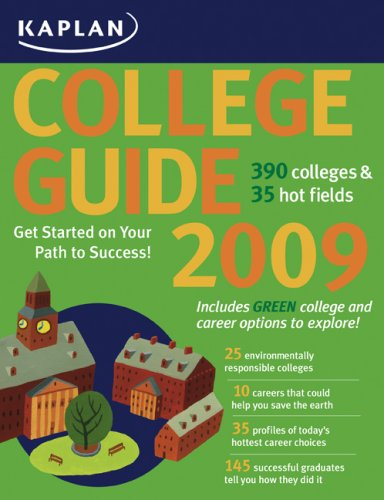 Kaplan College Guide 2009 Edition (Kaplan College Guides)