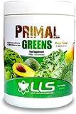 LLS Primal Verdes en polvo | 390g Tub / 30 porciones | Una mezcla de 15 densos en nutrientes verdes