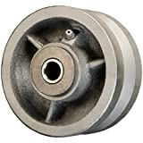 "4"" x 2"" V Groove Wheel for Casters or Equipment 800 lb Cap"