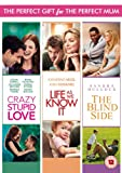 Mother's Day Box Set (Crazy Stupid Love / The Blind Side / Life as We Know it) [DVD] [2014]