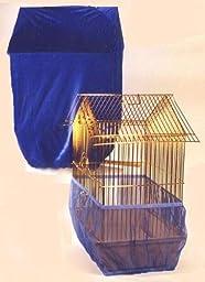 Sheer Guard Bird Cage Skirt and Cover Set - Small (Royal)