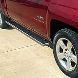 "iBoard Running Boards 4"" Fit 07-15 Chevy Silverado/GMC Sierra Crew Cab"