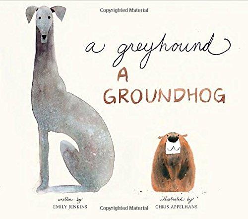 Book Cover: A Greyhound, a Groundhog