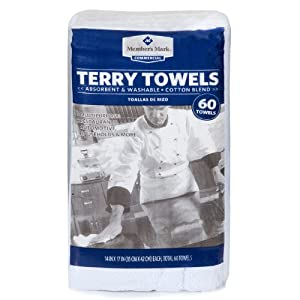 Member's Mark Terry Towels - 60 ct.