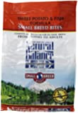 Dick Van Patten's Natural Balance Lid Sweet Potato and Fish Small Bite Dog Food, 4.5-Pound Bag