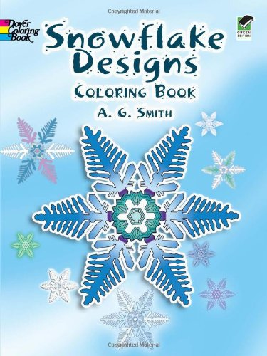 Snowflake Designs Coloring Book
