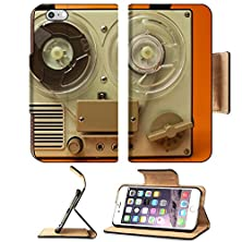 buy Msd Apple Iphone 6 Plus Iphone 6S Plus Flip Pu Leather Wallet Case A Small Vintage Reel To Reel Tape Recorder Image 21317358