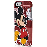 Disney IP1511 Comic Hard Case for iPhone 5 & 5s - Retail Packaging - Mickey