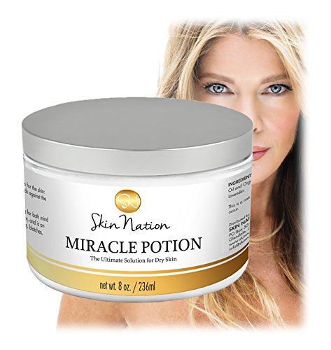 Miracle-Potion-The-Ultimate-Solution-for-Dry-Skin-100-Organic-Mango-Butter-Coconut-Oil-Skin-Nation-by-Michelle-Stafford