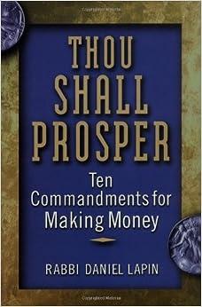 rabbi daniel lapin thou shall prosper pdf