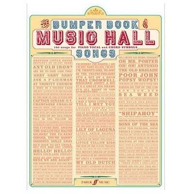 Bumper Book of Music Hall Songs (Sheet Music)