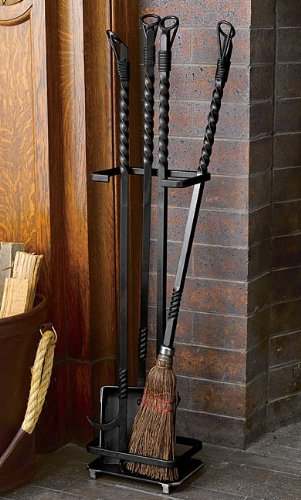 Fly Rod Fireplace Tool