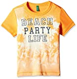 UCB Kids Baby Boys' T-Shirt (16P3U29C12RMG10C_Orange_1Y)