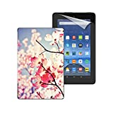 """Fire Essentials Bundle including Fire 7"""" Tablet with Special Offers, caseable Dialogue With the Sky Cover and Screen Protector Review"""