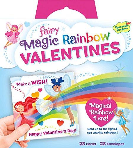 Fairy Magic Rainbow Lens Valentines Cards