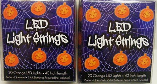 Halloween Pumpkin Light Strings Decoration