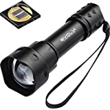 Evolva Future Technology T20 IR 38mm Lens Infrared Light Night Vision Flashlight Torch -To Be Used with Night Vision Device (Infrared Light Is Invisible to Human Eyes)