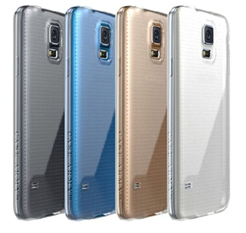 Samsung Galaxy S5 Case, Case Army Scratch-Resistant Slim Clear Case for Samsung Galaxy S5 Silicone Crystal Clear, Shock-Dispersion Technology, Cover with TPU Bumper (Limited (Cell Phone Accessories Cases compare prices)