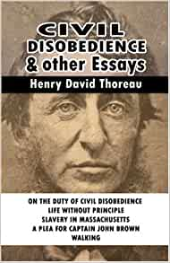 Henry David Thoreau Civil Disobedience Book