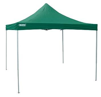 Draper 12891 - Cenador para patio, color verde