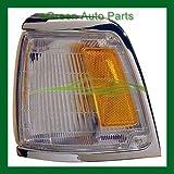TOYOTA PICK UP PICK-UP 2WD C.LAMP LEFT (DRIVER SIDE) (NEXT HEADLIGHT) CHROME TRIM 1992-1995