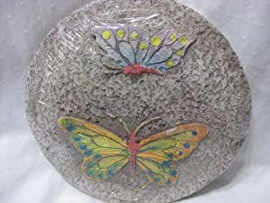 Garden City Stepping Stone- Butterfly Design