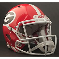 GEORGIA BULLDOGS NCAA Riddell Revolution SPEED Football Helmet UGA by ON-FIELD