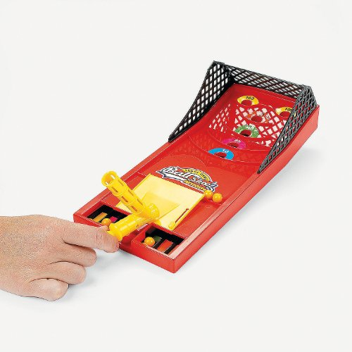 "Plastic Crazy Ball Shoot Game. 13"" X 5 1/4"". Plastic. - 1"