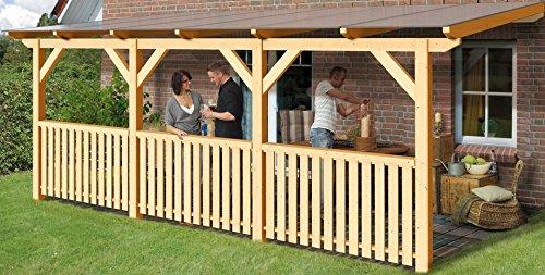TerrassenUberdachung Holz Gebraucht ~ KARIBU Terrassendach »Classic Gr A« (BxT 200×250 cm) 250 cm
