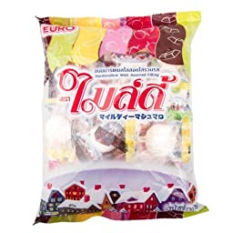 Mildy Marshmallows with Assorted Filling 120g