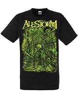 Alestorm Take No Prisoners! 187463 Männer Herren Band T-Shirt S-2XL