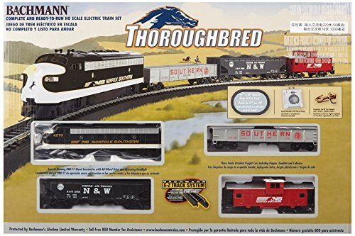 Bachmann Trains Thoroughbred Ready-to-Run HO Scale Train Set (Model Trains N Scale compare prices)
