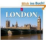 London 2014: Original St�rtz-Kalender - Gro�format-Kalender 60 x 48 cm [Spiralbindung]