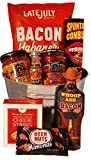 Beer Bacon and More Gift Basket