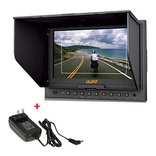 Brand New Lilliput 7'' 5D-Ii/O Color Tft Lcd Monitor With Hdmi Input & Output Function For Canon 5D Ii And Any Other Cameras With Hdmi Port