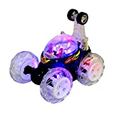 UKayed ® Turbo Twister Radio Controlled 360° Rotation Stunt Car Flips Spins & More (With Magical Lights)