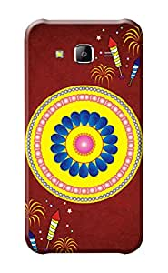 Samsung Galaxy J5 Cover, Premium Quality Designer Printed 3D Lightweight Slim Matte Finish Hard Case Back Cover for Samsung Galaxy J5 + Free Mobile Viewing Stand