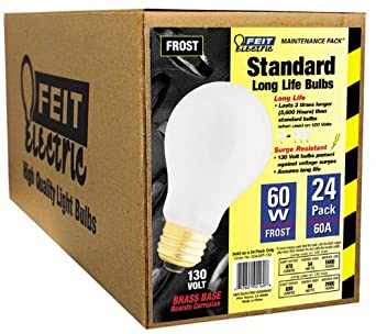 Feit Electric 60a/mp-130 Incandescent Light Bulb, 60w