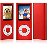 "NEUE 8GB 4. GENERATION MP3 MUSIC MEDIA PLAYER RADIO VIDEO FM 1.8 ""LCD-Bildschirm (nicht IPOD) (Rote)"
