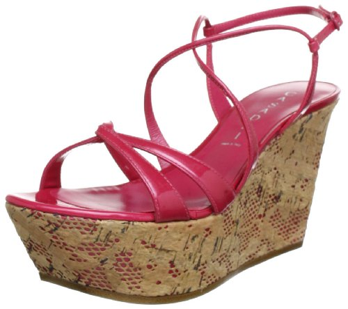 Casadei LADIES SANDALS 3076 Sandals Womens Red Rot (ANGURIA) Size: 5 (39 EU)
