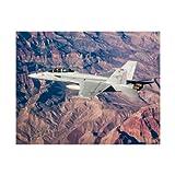 F/A-18E/F Super Hornet Matted Print - Large