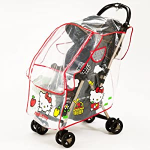 for strollers rain cover hello kitty baby products japan import toy figures baby. Black Bedroom Furniture Sets. Home Design Ideas