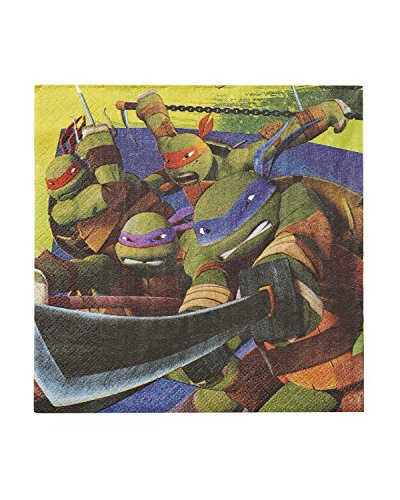 Lowest Price! Teenage Mutant Ninja Turtles Lunch Napkins (16-Pack).