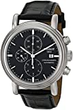 "Tissot Men's T068.427.16.051.00 ""Carson"" Stainless Steel Watch with Black Leather Band"
